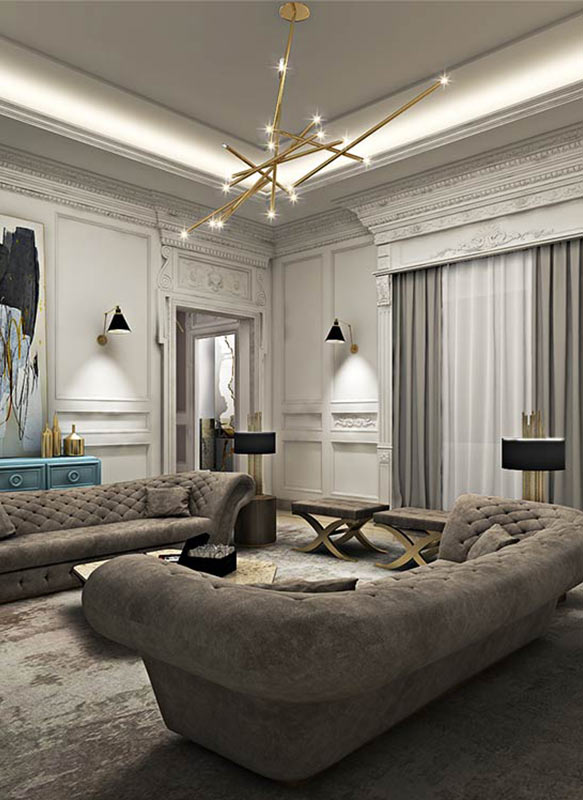 EVA Luxury interior designing in UAE